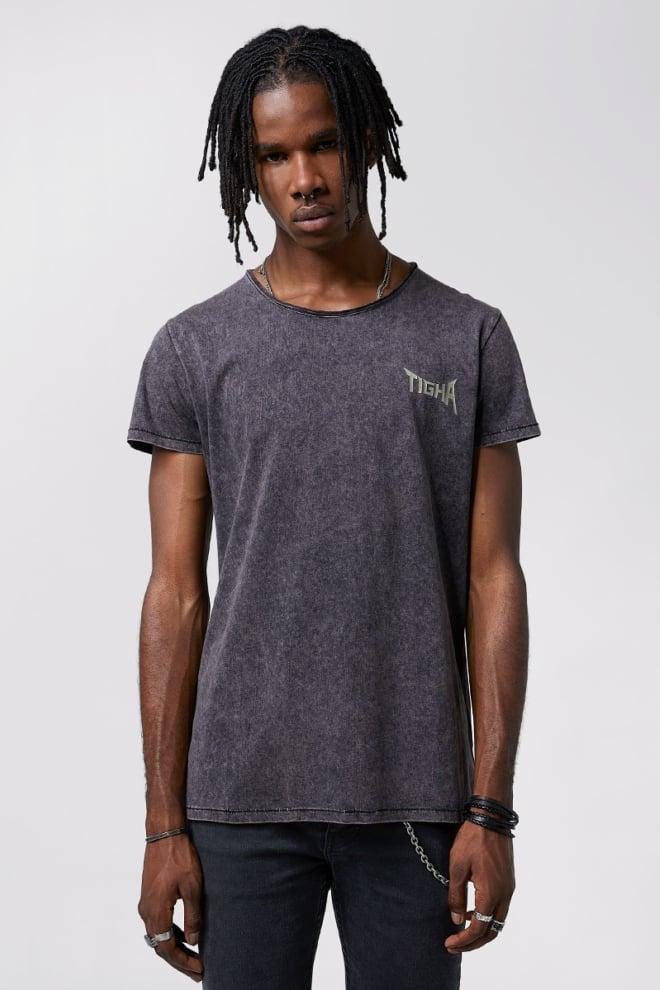 Tigha band t-shirt vintage black - Tigha
