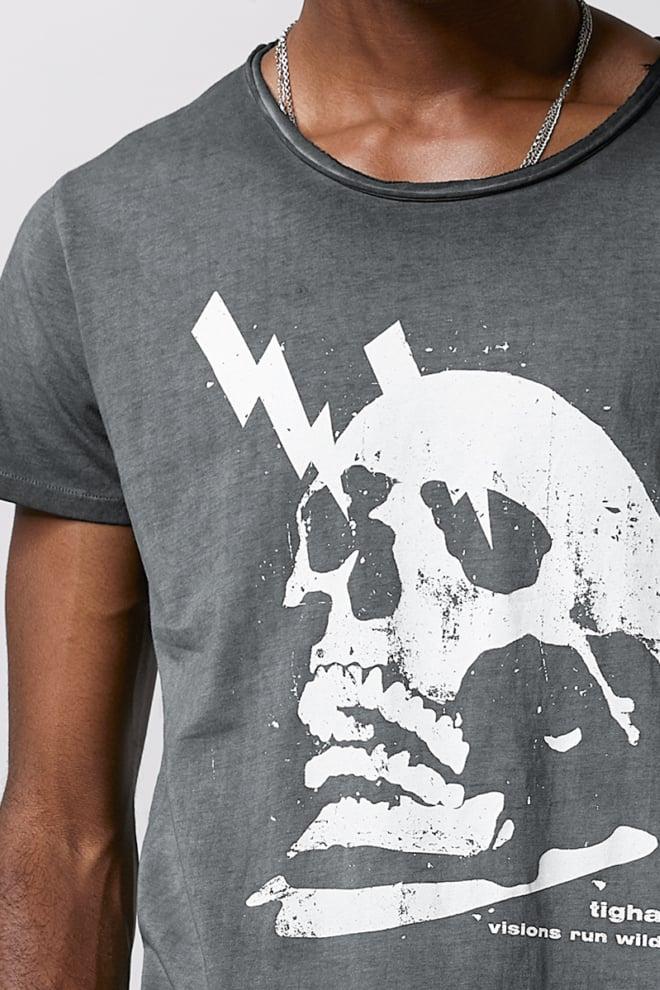 Tigha electrified skull wren t-shirt - Tigha