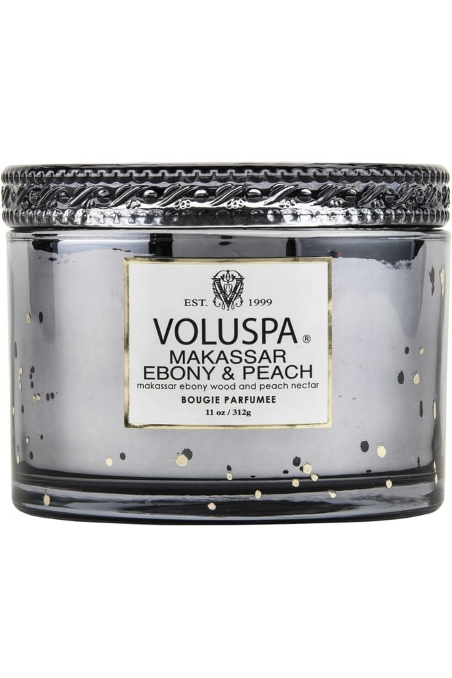 Voluspa maison candle makassar ebony peach - Voluspa