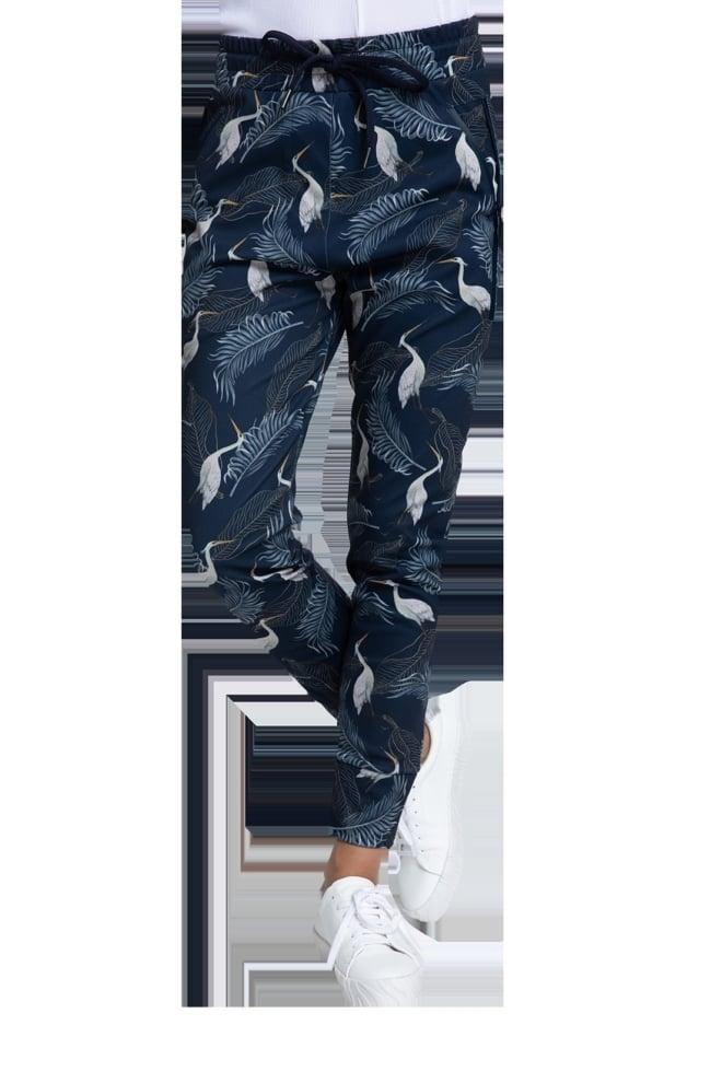 Zhrill fabia pants blauw print - Zhrill