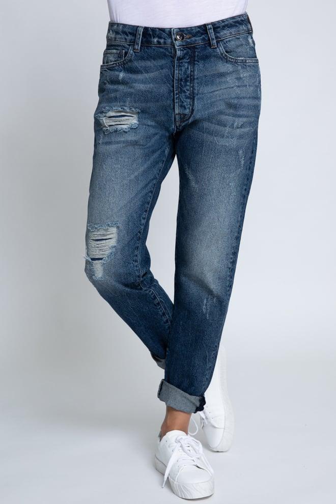 Zhrill boyfriend jeans milou blauw - Zhrill