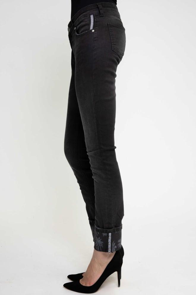 Zhrill nova mom jeans black - Zhrill