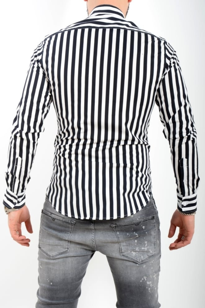 Zumo clapton black white shirt - Zumo International
