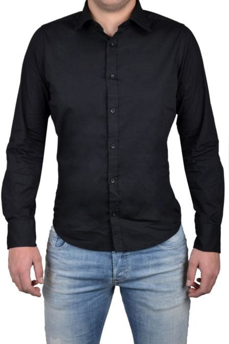 Black blouse men