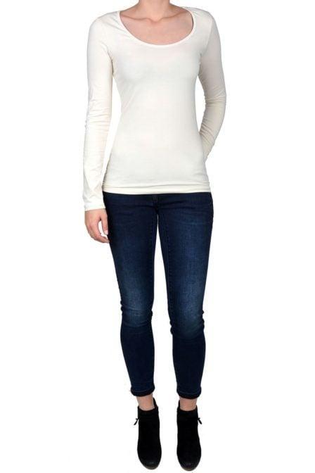 Off-white t-shirt women long sleeve