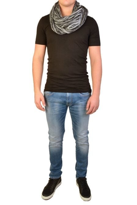 Knit neckcollar 9000/black 012