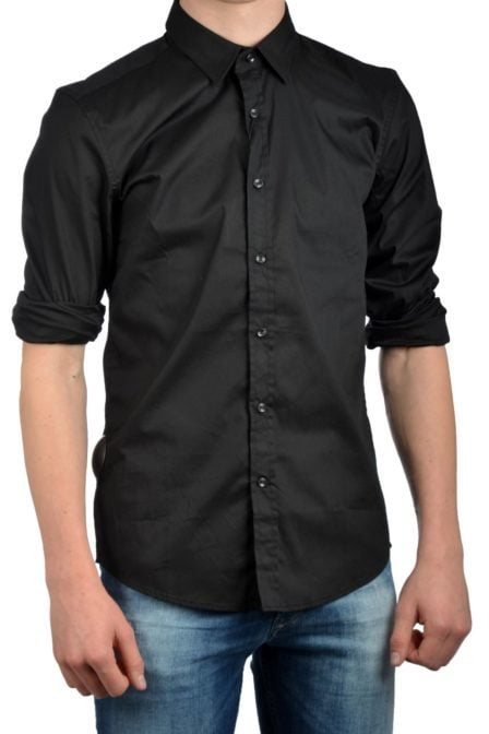 Antony morato shirt long sleeve black