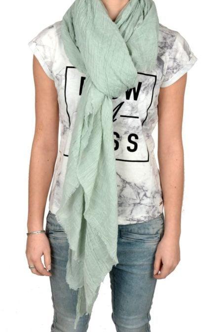 S16.110.862 vintage scarf grey-mint 013