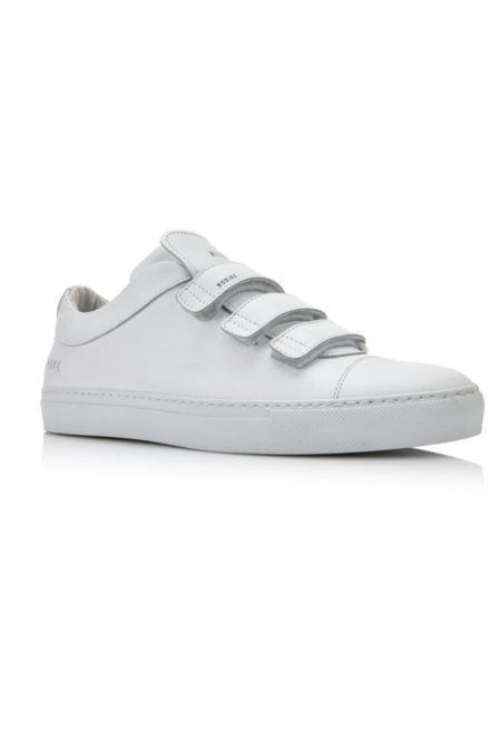 Jhay velcro calf white leather 013