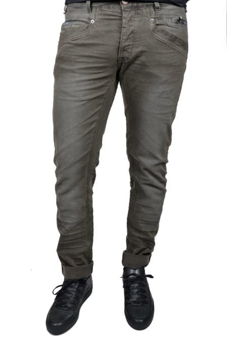 Bare metal 2 colored denim-7950