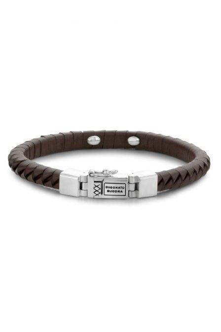 Komang small leather brown 162br 014