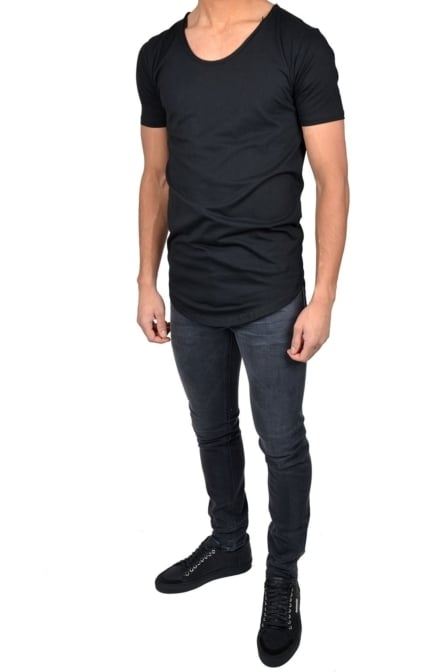 Zumo international long t-shirt black