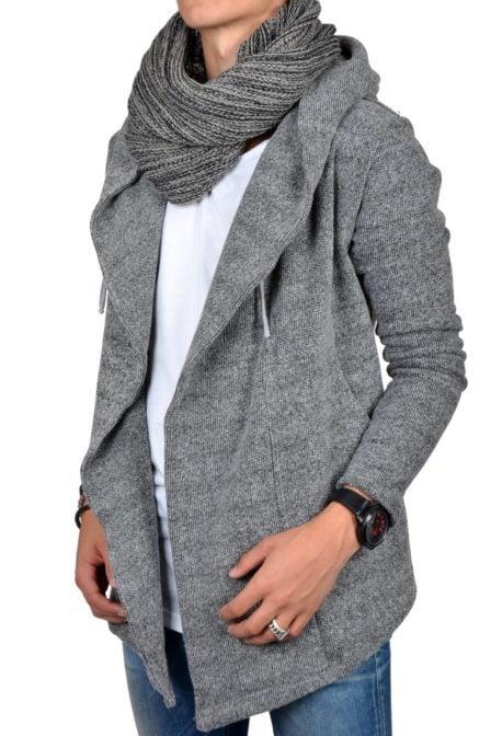 Shawl grey 014