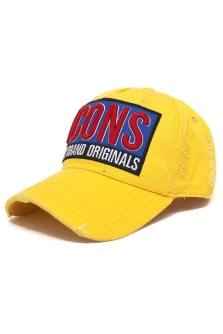 Icons series cap yellow 016