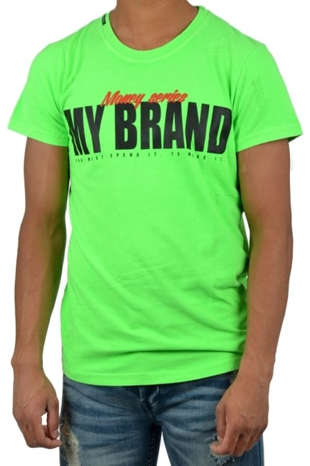 Make money series neon green 016