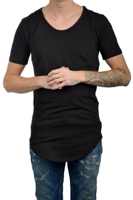 Zumo international long t-shirt oripoto dark brown