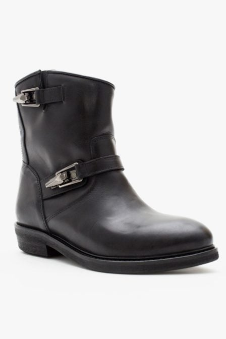 Catarina martins road leather boots black