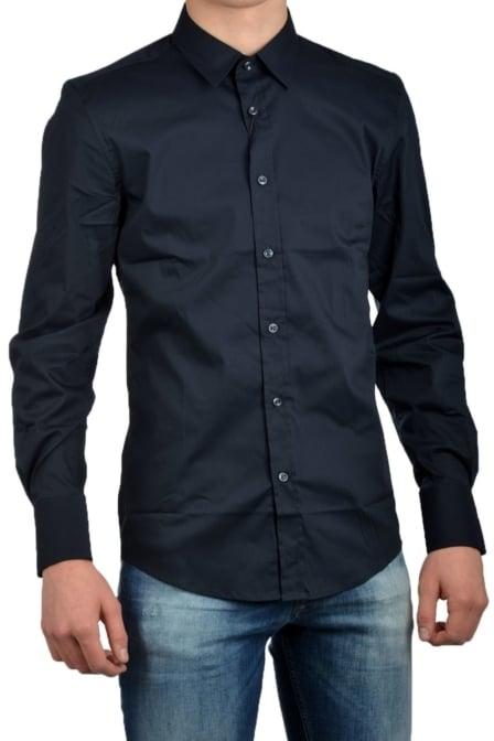 Antony morato shirt long sleeve deep 7043/blue