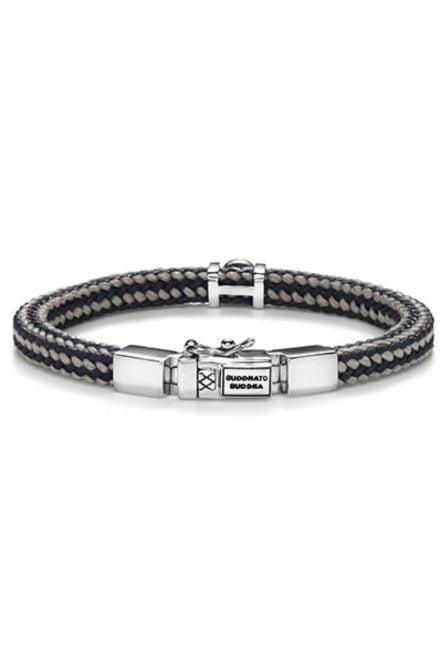 Denise cord bracelet mix grey