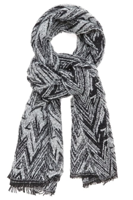 Circle of trust amber scarf carbon