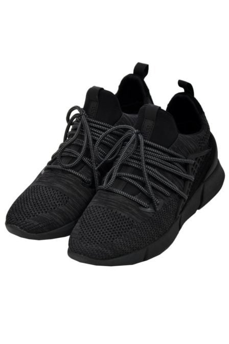 Cortica mens trainers rapide knit black