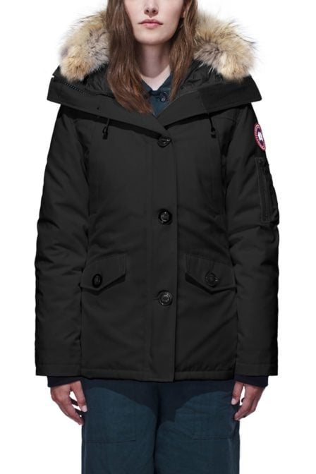 Canada goose ladies montebello parka military green