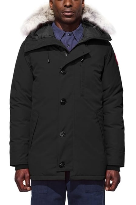 Canada goose chateau parka men black