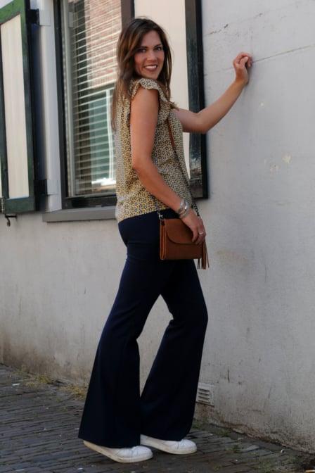 Elvy fashion laurie walletbag cognac