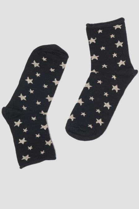 Pinned by k socks star gold