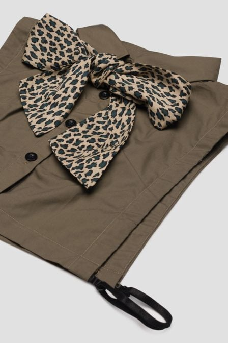 Pinned by k collar olive leopard