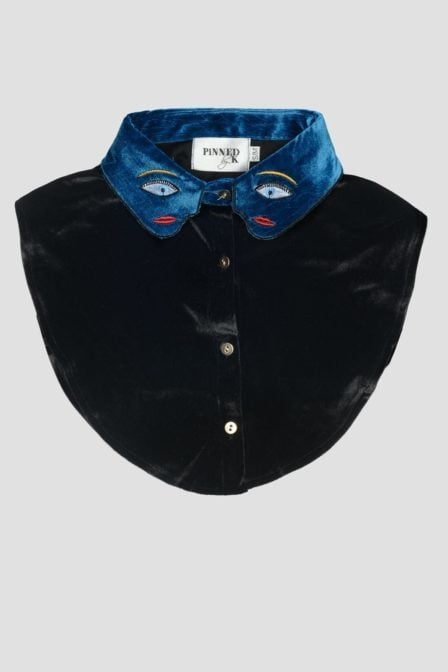 Pinned by k collar velvet eye
