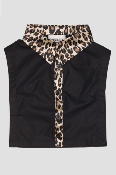 Pinned by k collar leopard black