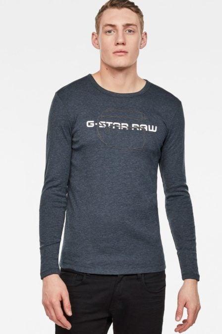 G-star raw tars t-shirt legion blue