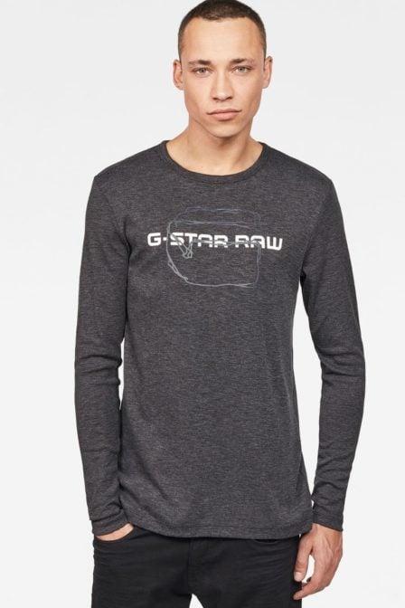 G-star raw tars t-shirt black