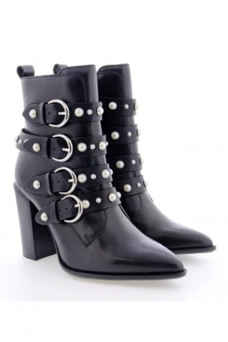 Bronx shoes ankleboot high black