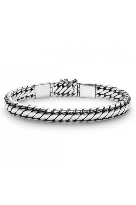Buddha to buddha ben xs stone bracelet blue lace agate size e