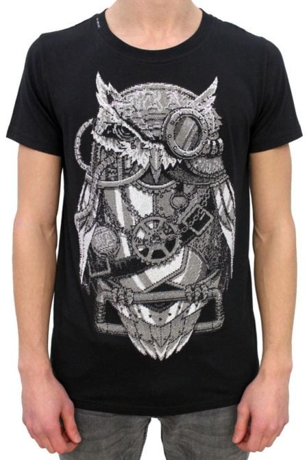My brand captain owl t-shirt black