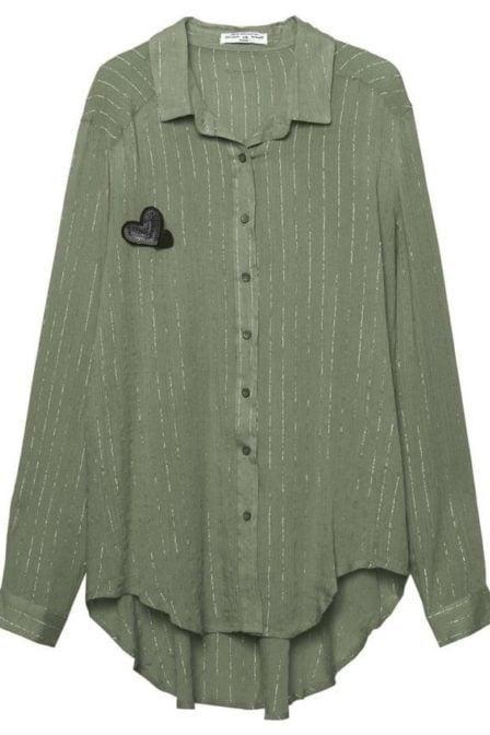 Circle of trust gia blouse vintage leaf
