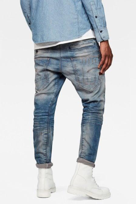 G-star raw d-staq 3d super slim jeans aged