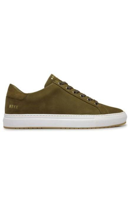 Nubikk pure miele nubuck sneaker dark green