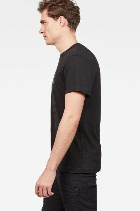 G-star raw mai t-shirt black/blue