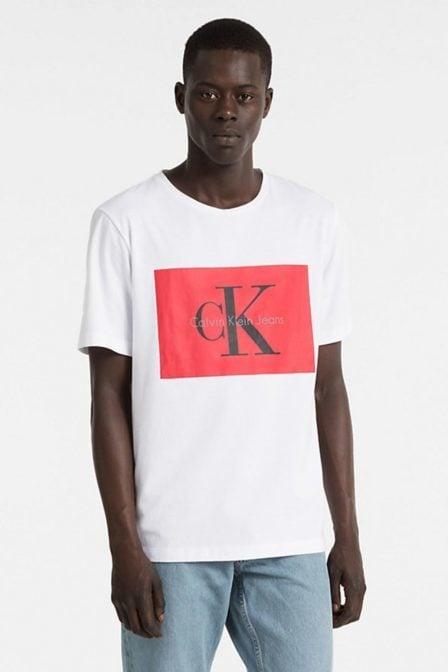 Calvin klein tikimo regular shirt bright white