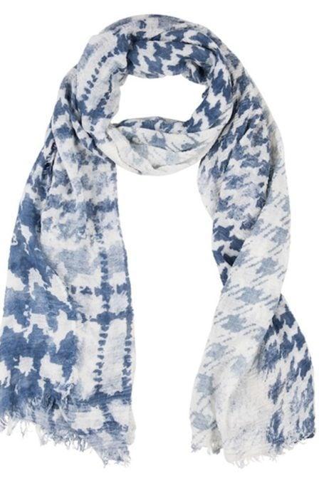 Circle of trust kiki scarf after dark blue
