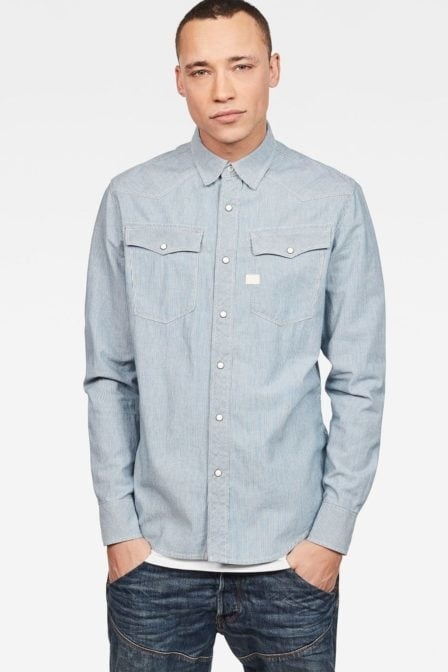 G-star raw 3301 shirt medium aged