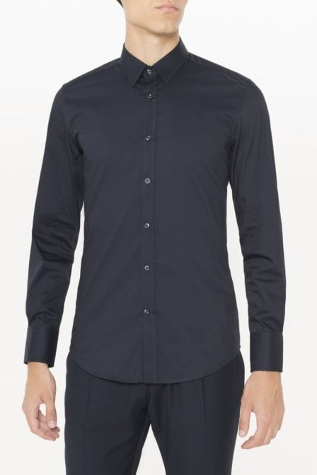 Antony morato super slim fit shirt deep blue