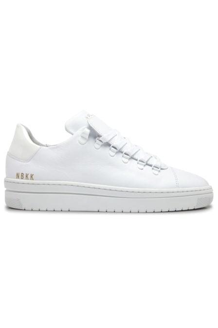 Nubikk yeye calf sneaker white leather
