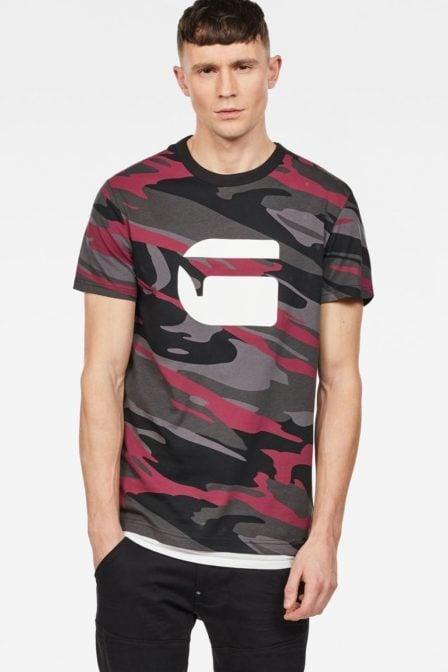 G-star raw zeabel mc t-shirt taupe