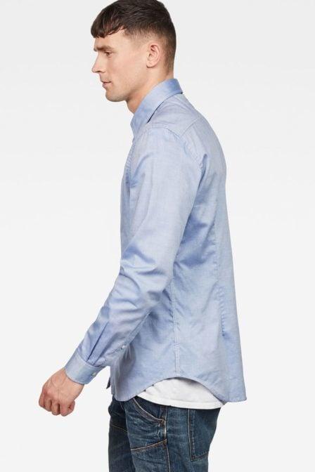 G-star raw core shirt nassau blue/white