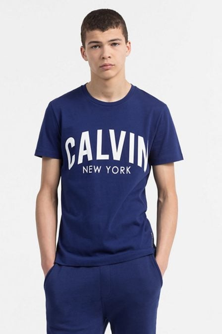 Calvin klein tibokoy slim tee blue depths