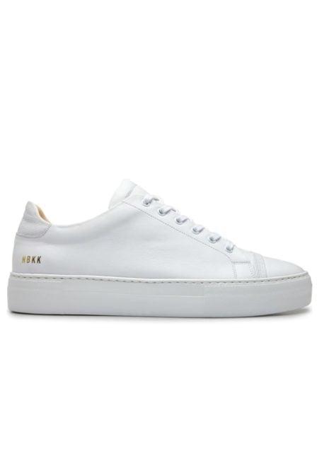 Nubikk jagger joe sneaker leather white
